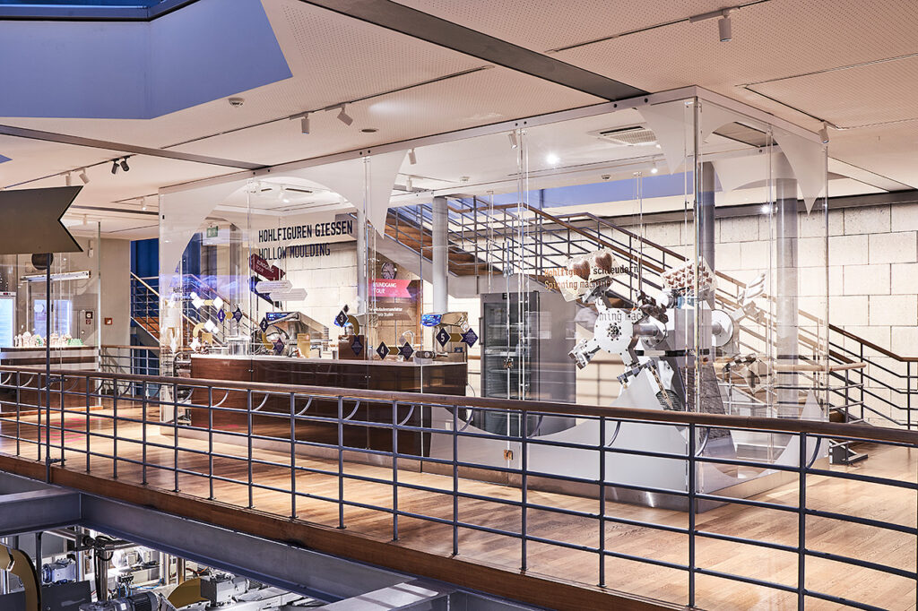 PLEXIGLAS Sonderanfertigung für das Kölner Schokoladenmuseum