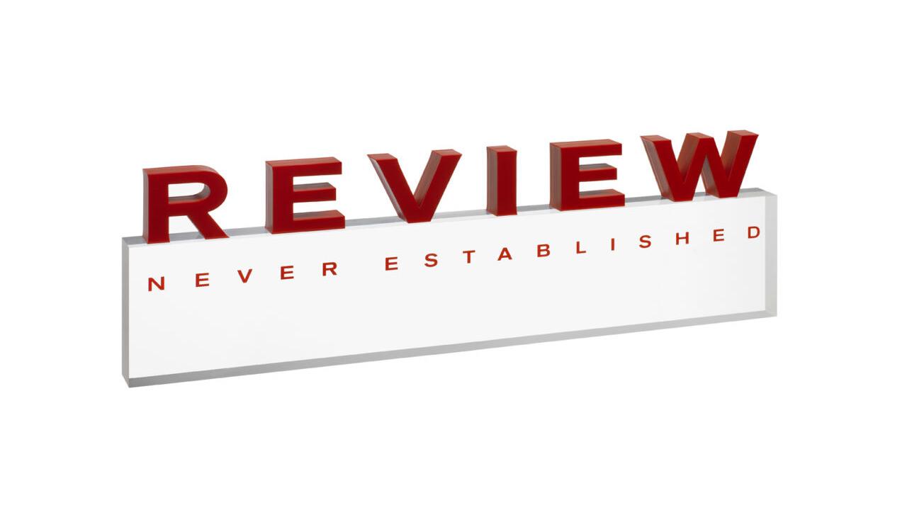 Review PLEXIGLAS®Display / Aufsteller