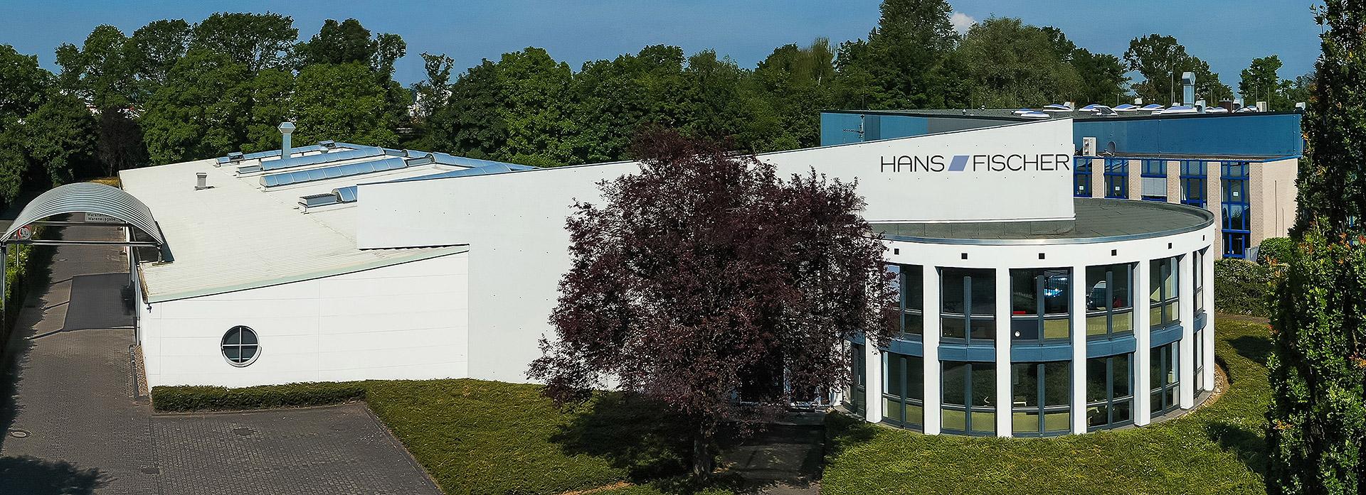 Hans Fischer - Unternehmen in Frechen - Drohnenaufnahme